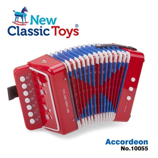 【荷蘭New Classic Toys】幼兒手風琴玩具-活力紅(10055)