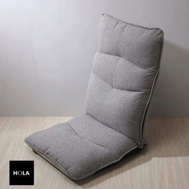 【HOLA】HOLA home 安全防傾倒和室椅 灰色