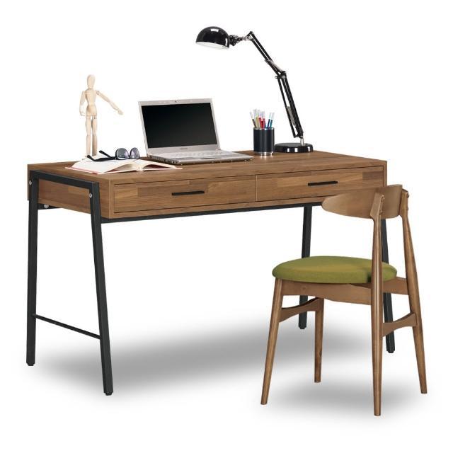 【時尚屋】漢諾瓦4尺書桌-含椅子 C7-873-1+1019-15(免運費 免組裝 書桌)