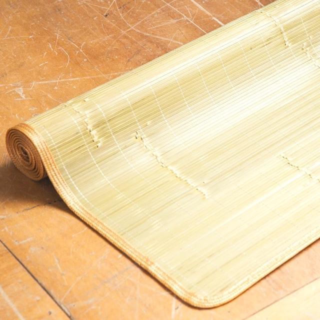【LAMINA】刮青涼爽竹蓆-3x6尺(單人)