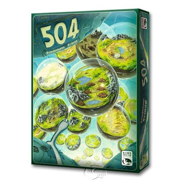 【新天鵝堡桌遊】504(玩家跑團讚)