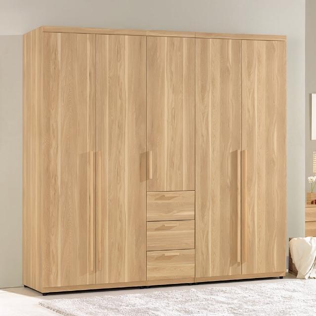 【H&D】波里斯6.6尺組合式衣櫥(全組)