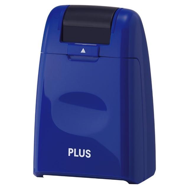 【普樂士】PLUS IS-500CM滾輪個人資料保護章 藍