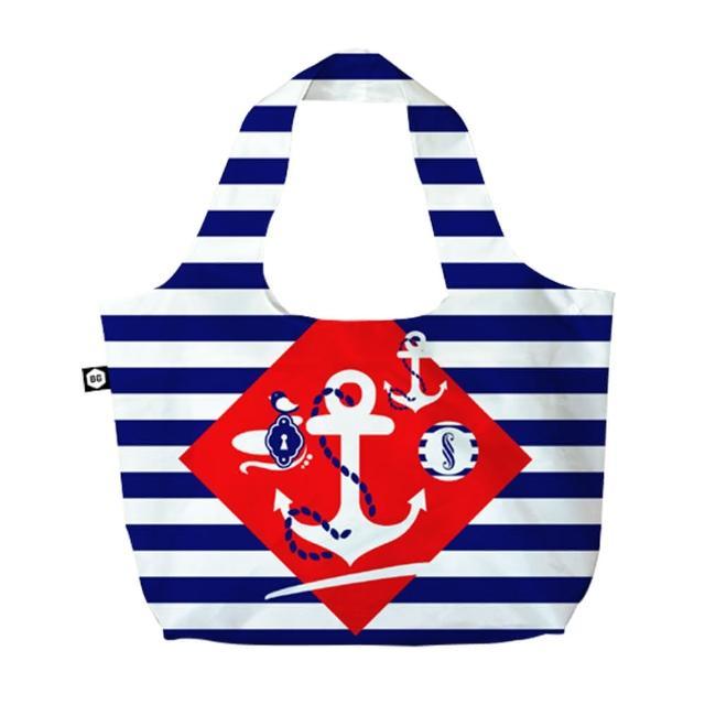 【BG Berlin】摺疊環保袋-航海風情
