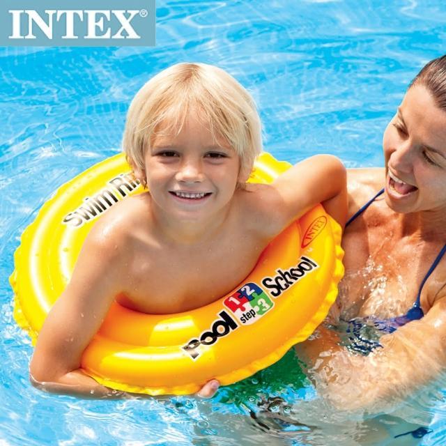 【INTEX】游泳學校POOL SCHOOL-STEP 2游泳圈3-6歲(58231)