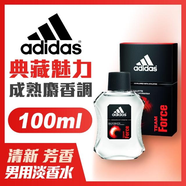 【adidas愛迪達】男用淡香水-典藏魅力(100ml)