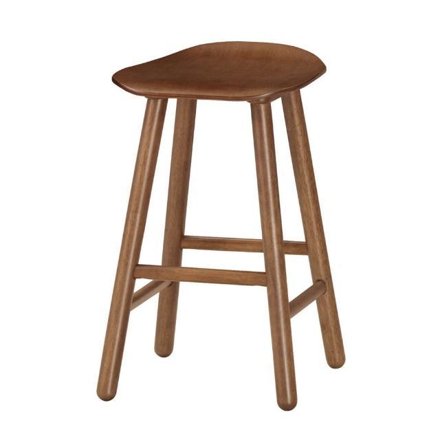 【Bernice】諾文實木吧台椅-高腳椅-單椅(三色可選)