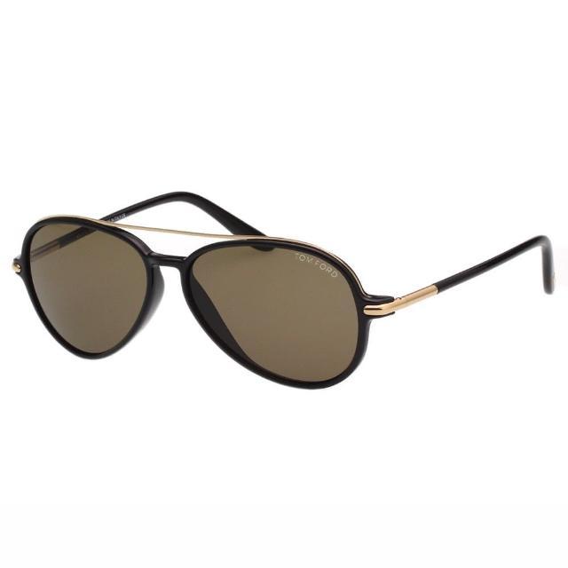 【TOM FORD】-帥氣飛行員款 太陽眼鏡TOM149(黑色)