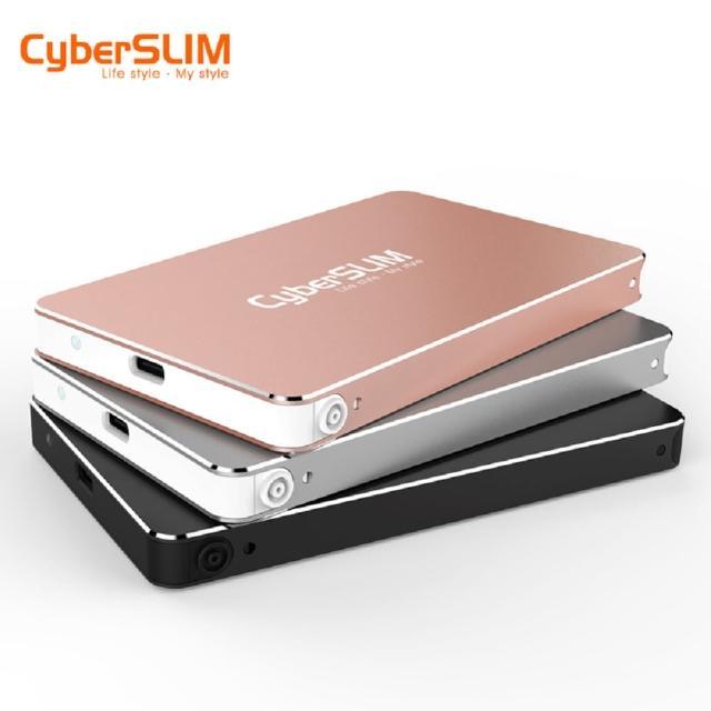 【CyberSLIM】S25U31 2.5吋外接盒 USB3.1  + 1TB 固態硬碟(SSD)