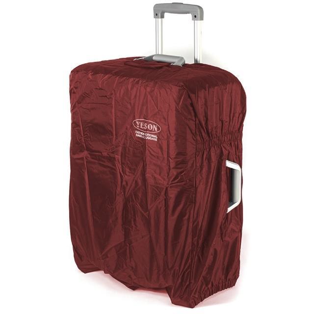 【YESON】22-25吋 第二代耐磨尼龍布防潑水行李箱保護套-三色可選(MG-8225)