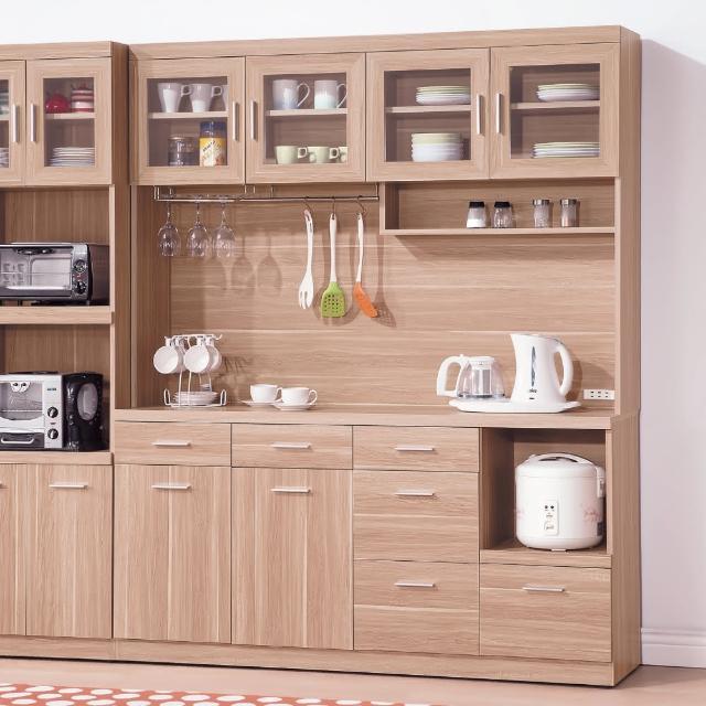 【AS】蘭斯原木色5.3尺餐櫃-40.5x161x200cm