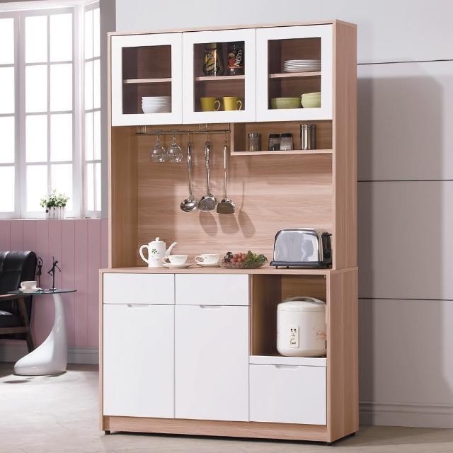 【AS】格里北歐4尺餐櫃-40.5x121x200cm