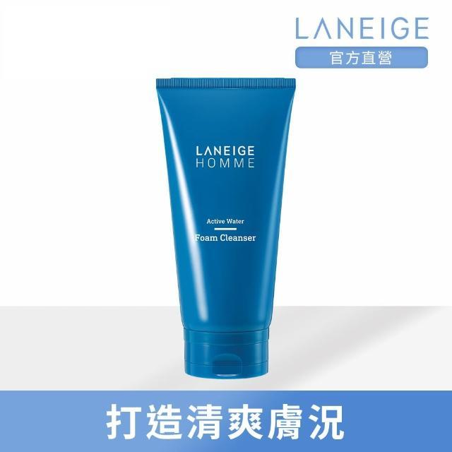 【LANEIGE 蘭芝】活力保濕泡沫潔面乳150ml