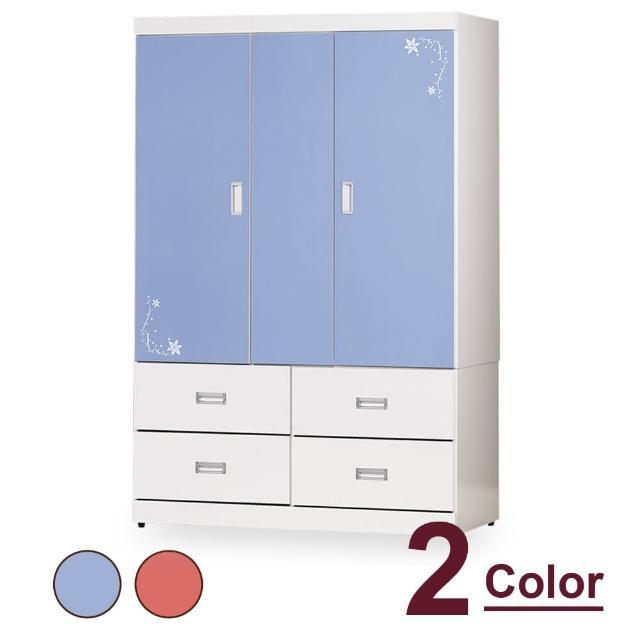 【時尚屋】胡爾達4x6尺衣櫥 CV7-15-1(兩色可選 免組裝 免運費 衣櫥)