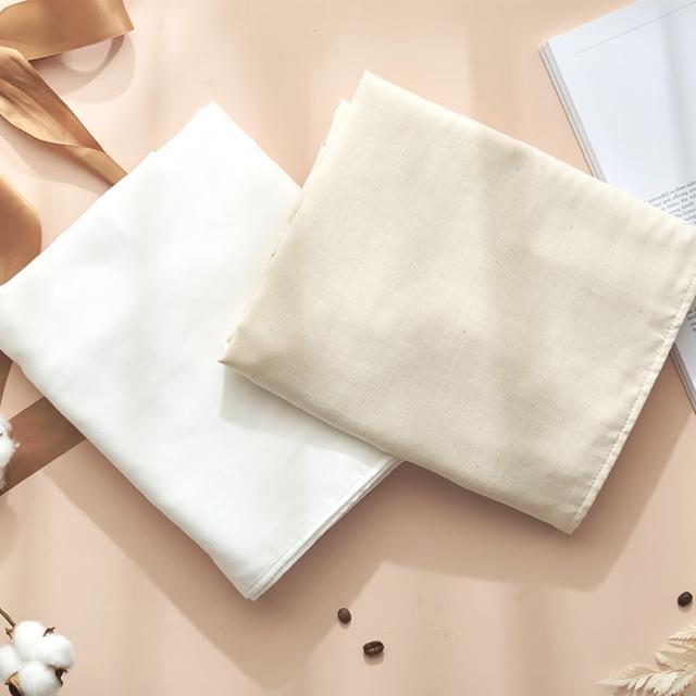 【MARURU】日本製無漂白無染色紗布浴巾(新生兒baby寶寶無漂白無染色紗布浴巾-日本製)