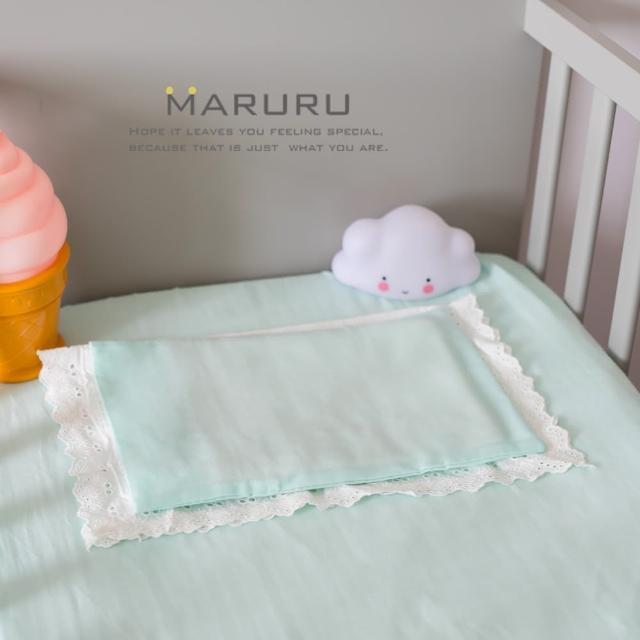 【MARURU】日本製嬰兒床單 薄荷綠 70x130(日本製嬰兒寶寶baby床單-適用70x130嬰兒床墊)