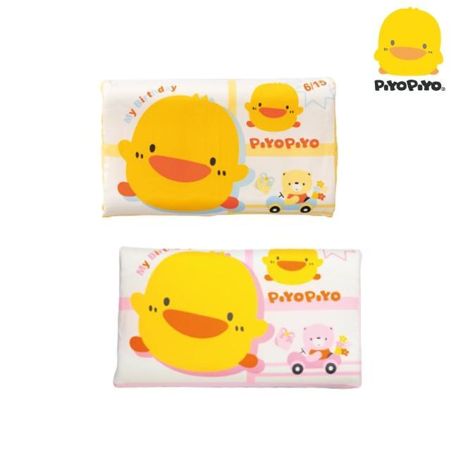 【Piyo Piyo 黃色小鴨】幼童波浪乳膠枕
