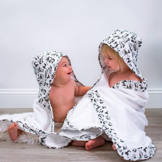 【美國 Bebe Au Lait】純棉造型嬰幼兒浴巾-保暖毯(小恐龍系列)