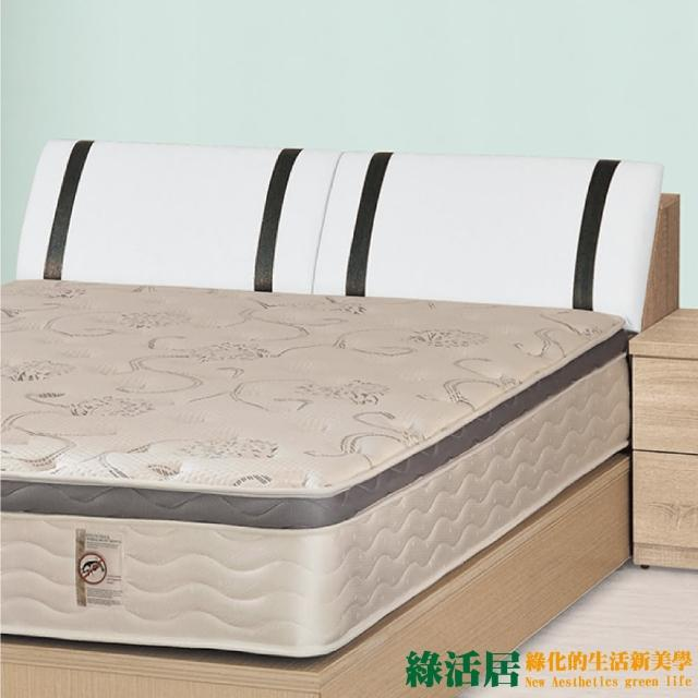 【綠活居】邁可  時尚5尺皮革雙人床頭箱(不含床墊&床底)