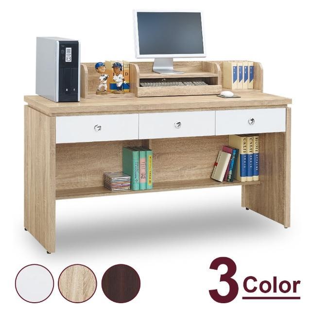 【時尚屋】夢娜耐磨5尺電腦辦公桌 MT7-625-5(三色可選 免運費 免組裝 電腦桌)