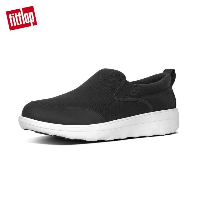 【FitFlop】男款-LOAFF? CANVAS SKATESLOAFF TM CANVAS SKATES(黑色)