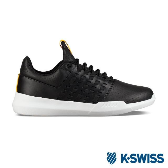 【K-SWISS】Gen-K Icon Variable 休閒運動鞋-男-黑/黃(06162-048)