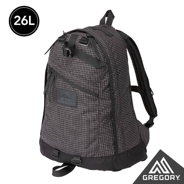 【Gregory】26L DAY PACK後背包(黑格)