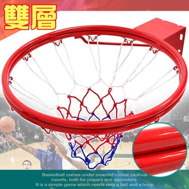 標準18吋雙層金屬籃球框-含籃球網(B004-1729)/