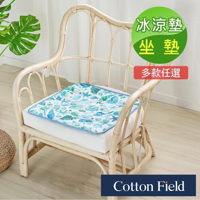 【棉花田】極致酷涼冷凝坐墊冰涼墊-多款可選(45x45cm)/
