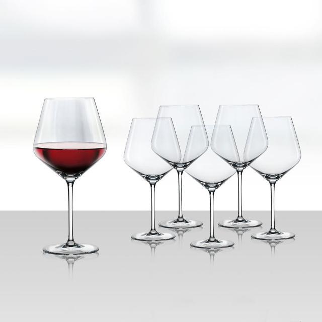 【Spiegelau】德國Style伯根地紅酒杯6入(德國無鉛水晶玻璃杯)/