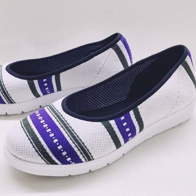 【WYPEX】圖騰針織懶人鞋