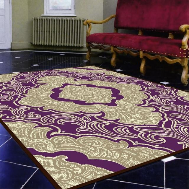 【范登伯格】卡里☆頂級立體雕花絲質地毯-羅漾-共兩色(140x200cm)
