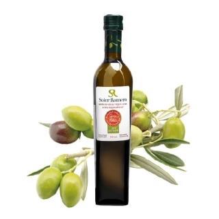【莎蘿瑪】西班牙冷壓初榨橄欖油500ml/瓶(冷壓初榨 平均酸價≦0.15 送禮最佳選擇)