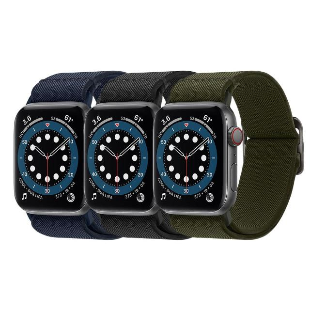 【Spigen】Apple Watch Series 6/SE/5/4/3/2/1 Lite Fit-彈力編織錶帶(SGP)