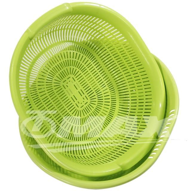 【omax】日製清洗超大瀝水籃-2組