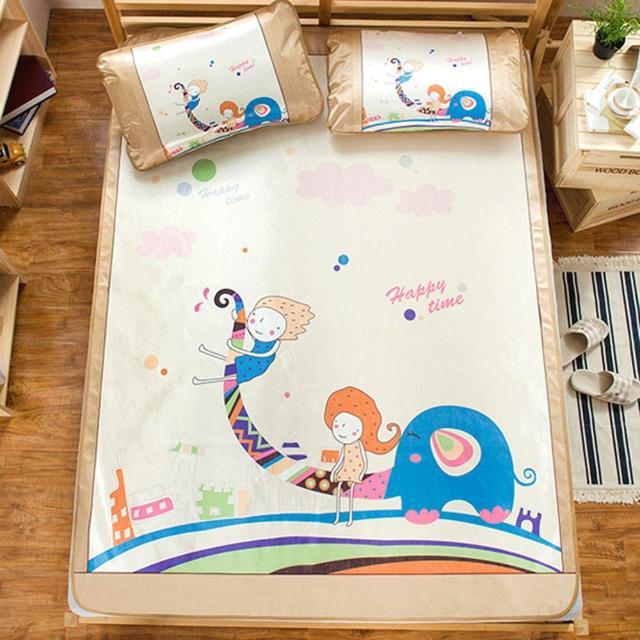 【BELLE VIE】頂級網眼透氣涼感卡通冰絲蓆-小王子(雙人加大-180X188cm)