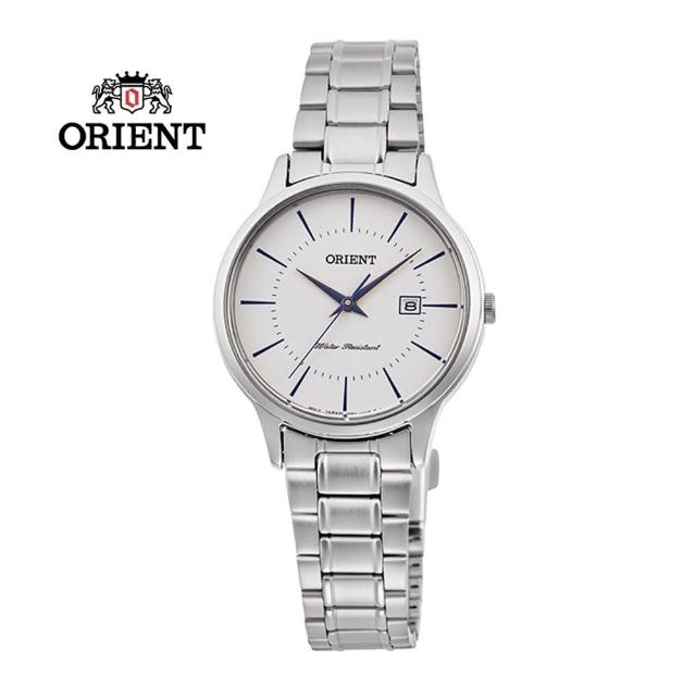 【ORIENT 東方錶】ORIENT 東方錶 CONTEMPORARY 系列 鋼帶款 白色 RF-QA0012S-30.0mm(RF-QA0012S)