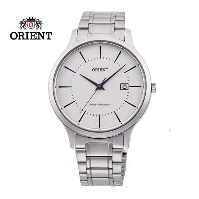 【ORIENT 東方錶】ORIENT 東方錶 CONTEMPORARY 系列 鋼帶款 白色 RF-QD0012S-39.0mm(RF-QD0012S)