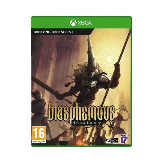 【Microsoft 微軟】豪華版 Xbox 預購6/29上市★《褻瀆神明 Blasphemous》(國際中文版)