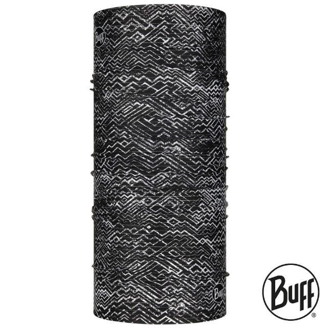 【BUFF】COOLNET 抗UV頭巾 黑白迷宮 BF125052(路跑/防曬/健行/單車/爬山/防疫)