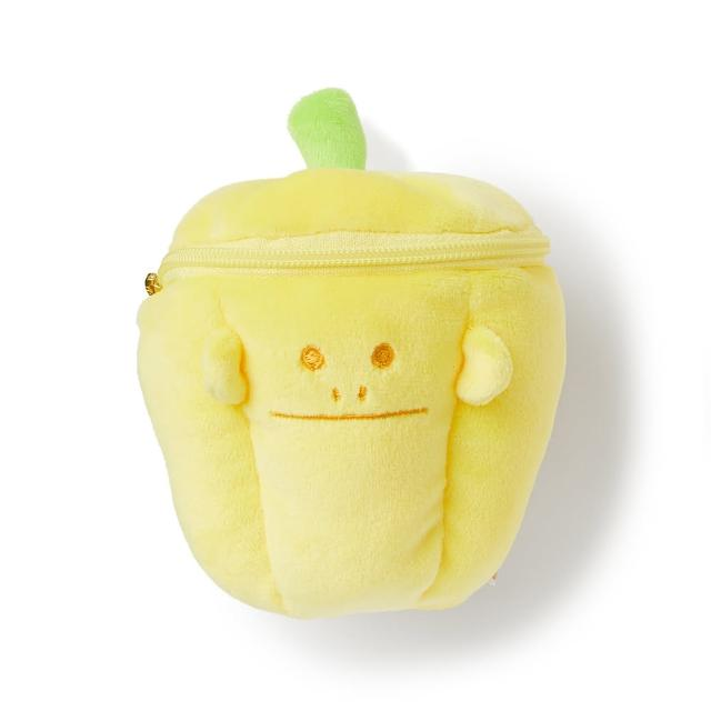 【CRAFTHOLIC 宇宙人】黃甜椒猴造型萬用包(蔬菜設計款~)