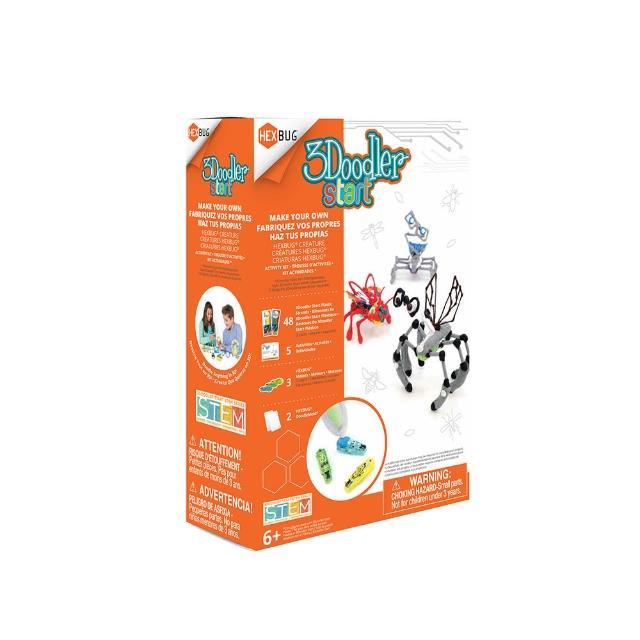 【3Doodler】Start 3D列印筆 跳跳昆蟲機器人套件(公仔 模型 設計 玩具 DIY)