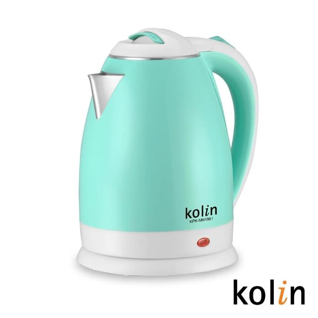 【Kolin 歌林】1.8L防燙不銹鋼快煮壺(KPK-MN1881)