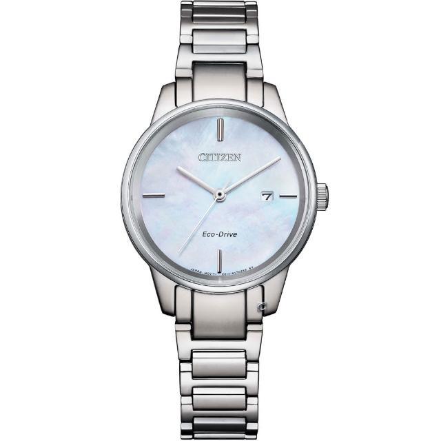 【CITIZEN 星辰】LADYS 簡約甜美時尚腕錶(EW2590-85D)