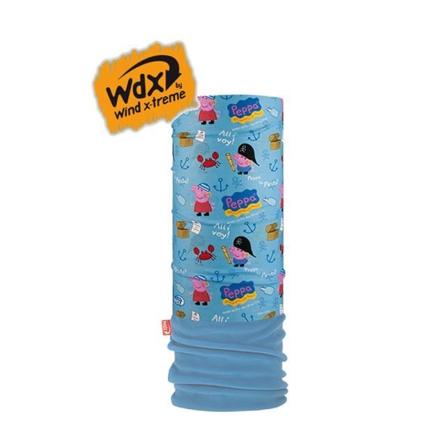 【Wind x-treme】兒童粉紅豬多功能保暖頭巾 POLAR Wind(多樣穿戴方式、防紫外線、抗菌、吸濕快乾)