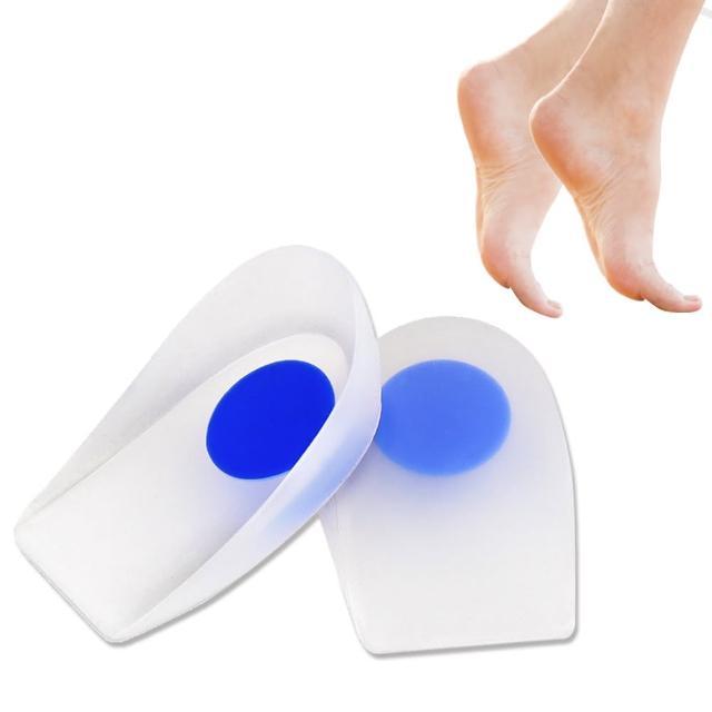 【足的美形】任選-高腳跟減震矽膠半墊(1雙)