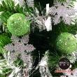 【摩達客】耶誕-1尺/1呎-30cm台灣製迷你裝飾綠色聖誕樹(含綠球雪花系/免組裝/本島免運費)