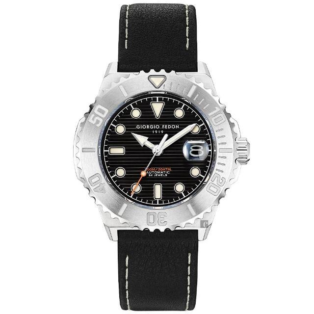 【GIORGIO FEDON 1919】浪行者潛水機械錶-44.5mm(GFCS001)