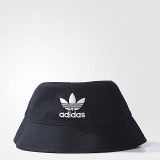 【adidas 愛迪達】BUCKET HAT AC 男女 漁夫帽 黑(AJ8995)