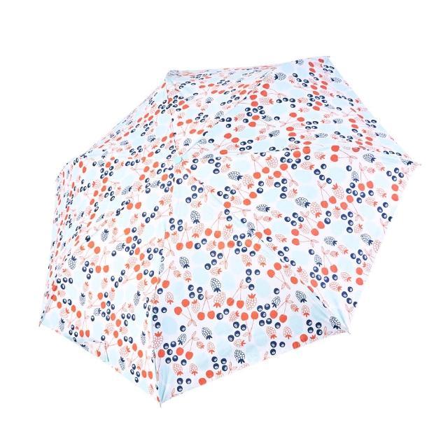 【rainstory】-8°降溫凍齡個人加大自動傘-魔法櫻桃(遮光色膠系列)
